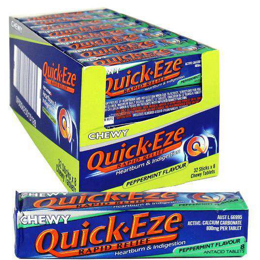 Quick-Eze Chewy Peppermint Flavour