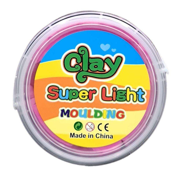Super Light Moulding Clay - Pink