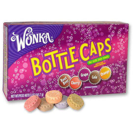 Wonka Bottle Caps Theatre Box 141g