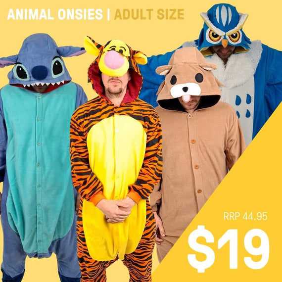 ADULT ONSIE- ANIMALS