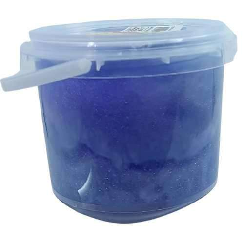 Kids Slime Bucket- Chrome Sky Blue