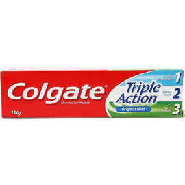 Colgate Toothpaste Triple Action Mint 154g