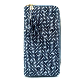 Ladies Purse Pattern Blue