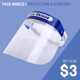 FACE SHIELD | PROTECTION & COMFORT