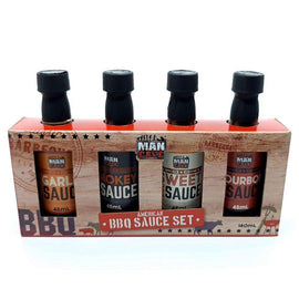 Man Cave BBQ Sauce 4 Pack