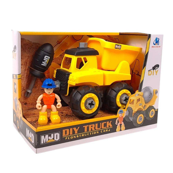 MJD DIY Construction Toys - Dump Truck
