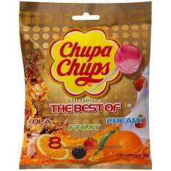 Chupa Chups The Best Of Lollipops 8 Pack 96g