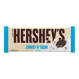 Hershey's Cookies N Crme  Chocolate Bar 43g