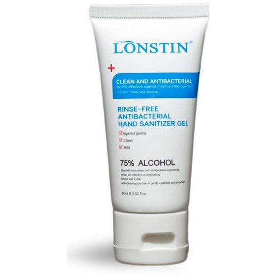 60ML Lonstin 75% Alcohol Hand Sanitiser (200 Pieces)