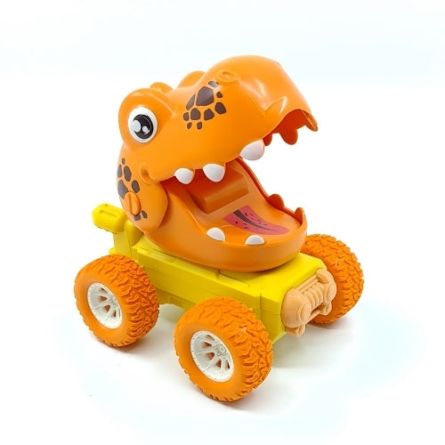 Dinosaur World Press Toy - Orange