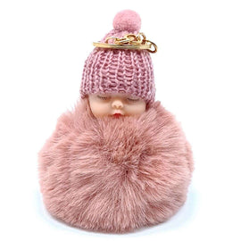 Baby Doll Key Ring Baby Pink