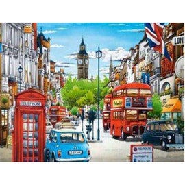 Diamond Art Picture Full Drill Size 35X45 London Life