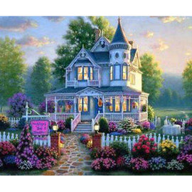 Diamond Art Picture Full Drill Size 35X45 Perfect House
