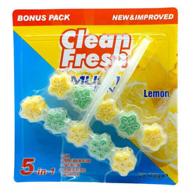 Clean Fresh Flower Toilet Cleaner (Lemon)