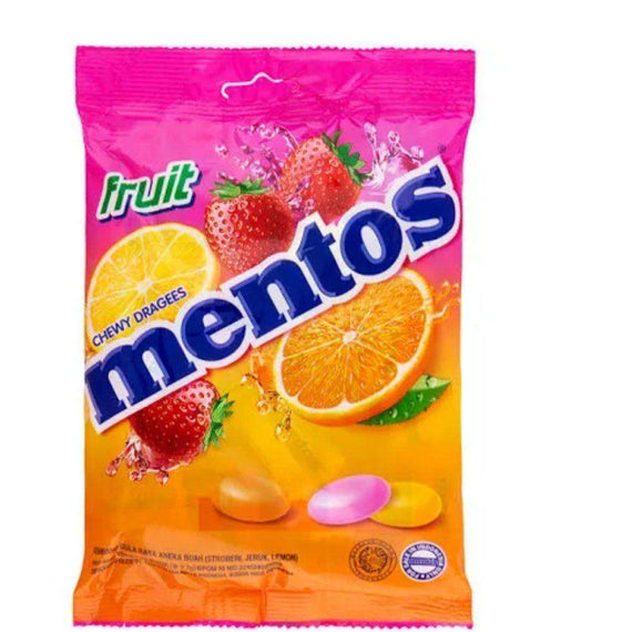 Mentos Fruity 135g Bag
