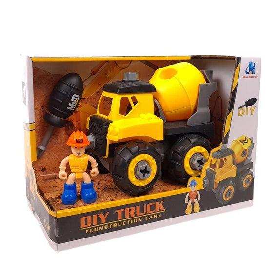 MJD DIY Construction Toys - Concrete Mixer