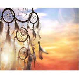 Diamond Art Picture Full Drill Size 40X50 Dream Catcher