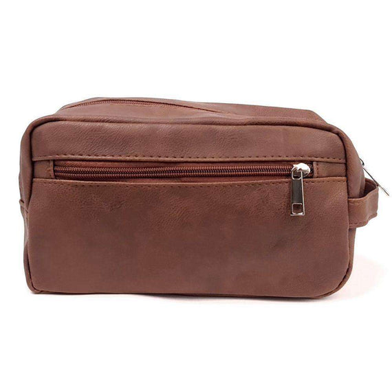 Toiletry Bags Brown