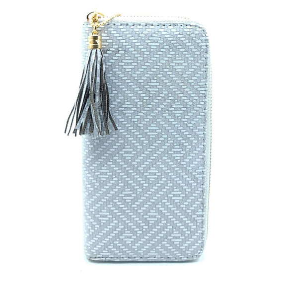 Ladies Purse Pattern Grey