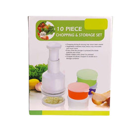 Greenies 10pcs Chopping and Storage Set