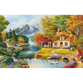 Diamond Art Picture Full Drill Size 50X65 Dream House