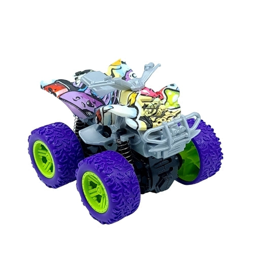 Graffiti Four Wheeler - Purple