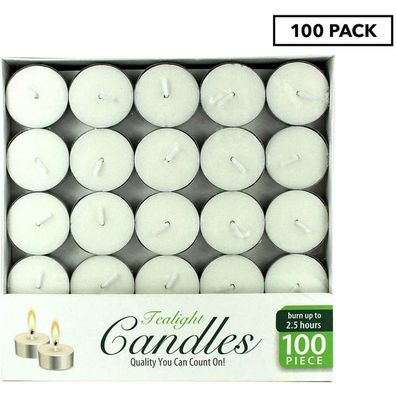 AirFusion Tealight Candle 100pk - Unscented