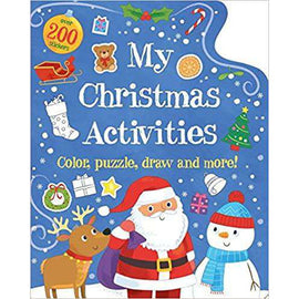 My Christmas Activities: Colour, Puzzle, Draw and More!