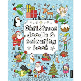 Christmas Doodle & Colouring Book