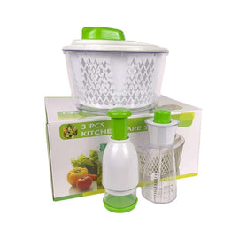 Greenies 3pcs Kitchenware Set