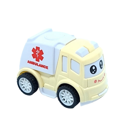 Cartoon Motorcade - Ambulance