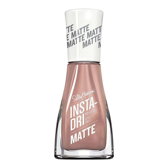 Sally Hansen 9.17Ml Insta-Dri Nail Polish Matte 017 Rose Flush (Non Carded)