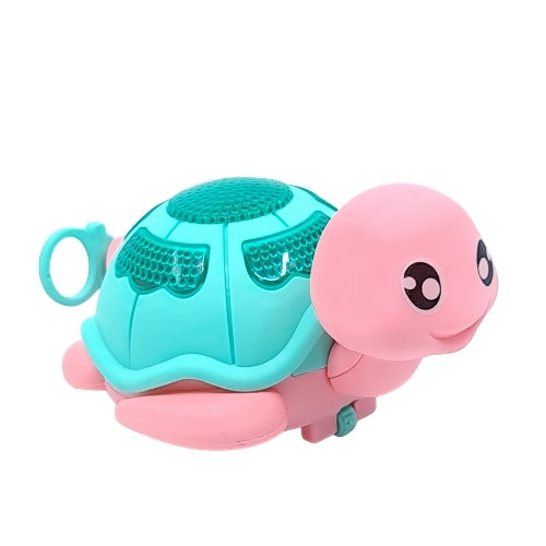 Turtle Pull Toy - Pink