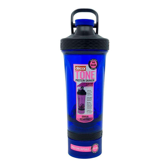 Décor 570ML Tone Protein Shaker-Blue