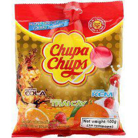 Chupa Chups Best of All Lollipops 10 Pack 100g