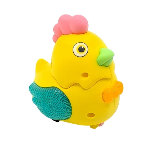 Little Chicken Pull Toy - Yellow