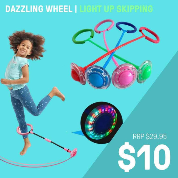DAZZLING WHEEL | LIGHT UP SKIPPING