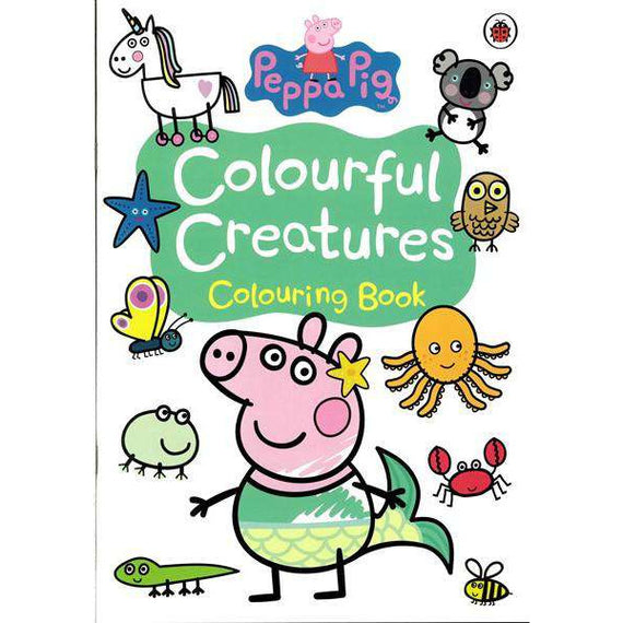 Peppa Pig- Colourful Creatures- Colouring Book