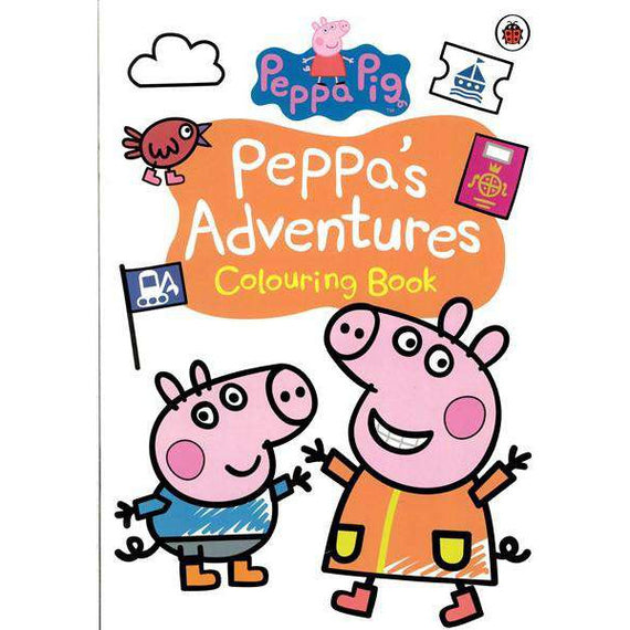 Peppa Pig- Peppas Adventures- Colouring Book