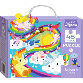 Junior Jigsaw 45 Piece Puzzle: Unicorn Race