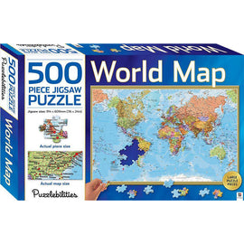 500 Piece Jigsaw Puzzle -World Map