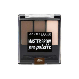 Maybelline 3.4G Master Brow Pro Palette Soft Brown (Carded)