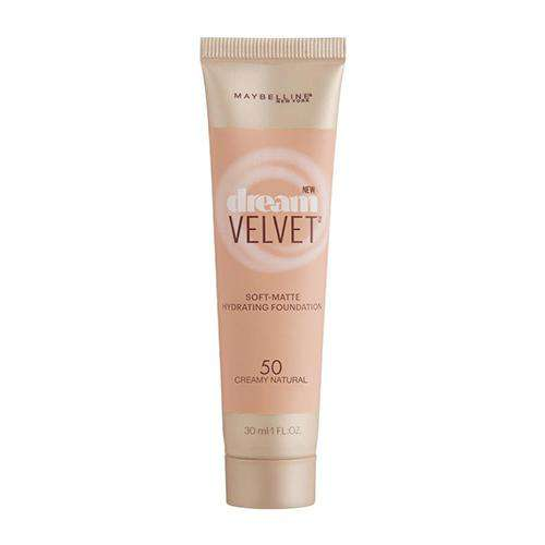 Maybelline Dream Velvet Foundation- 50 Creamy Natural