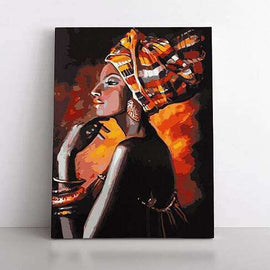 Paint By Numbers- 50x70cm  African Queen