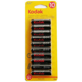 Kodak AA Heavy Duty Battery 10 Pack