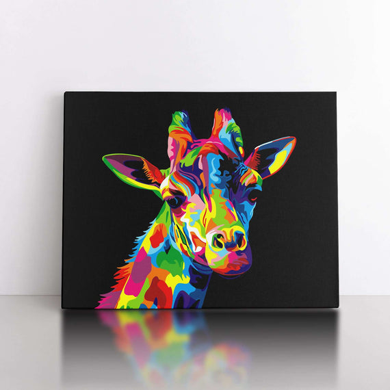 Paint By Numbers Quatro Set - Animal Gang 50x70cm