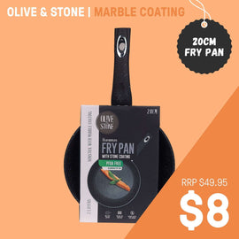 OLIVE & STONE OL20CM FRYING PAN