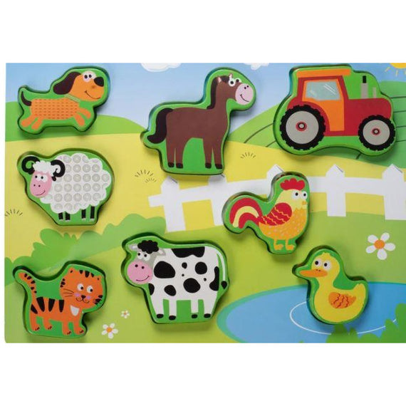 Kids wood Puzzle- FARM ANIMALS