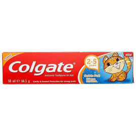 Colgate Kids Toothpaste 2-5 Years Bubble Fruit 50mL