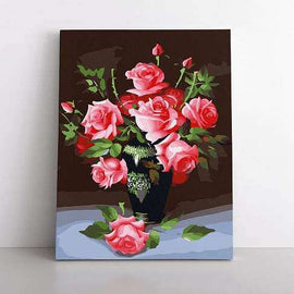 Paint By Numbers- 40x50cm  Fallen Rose